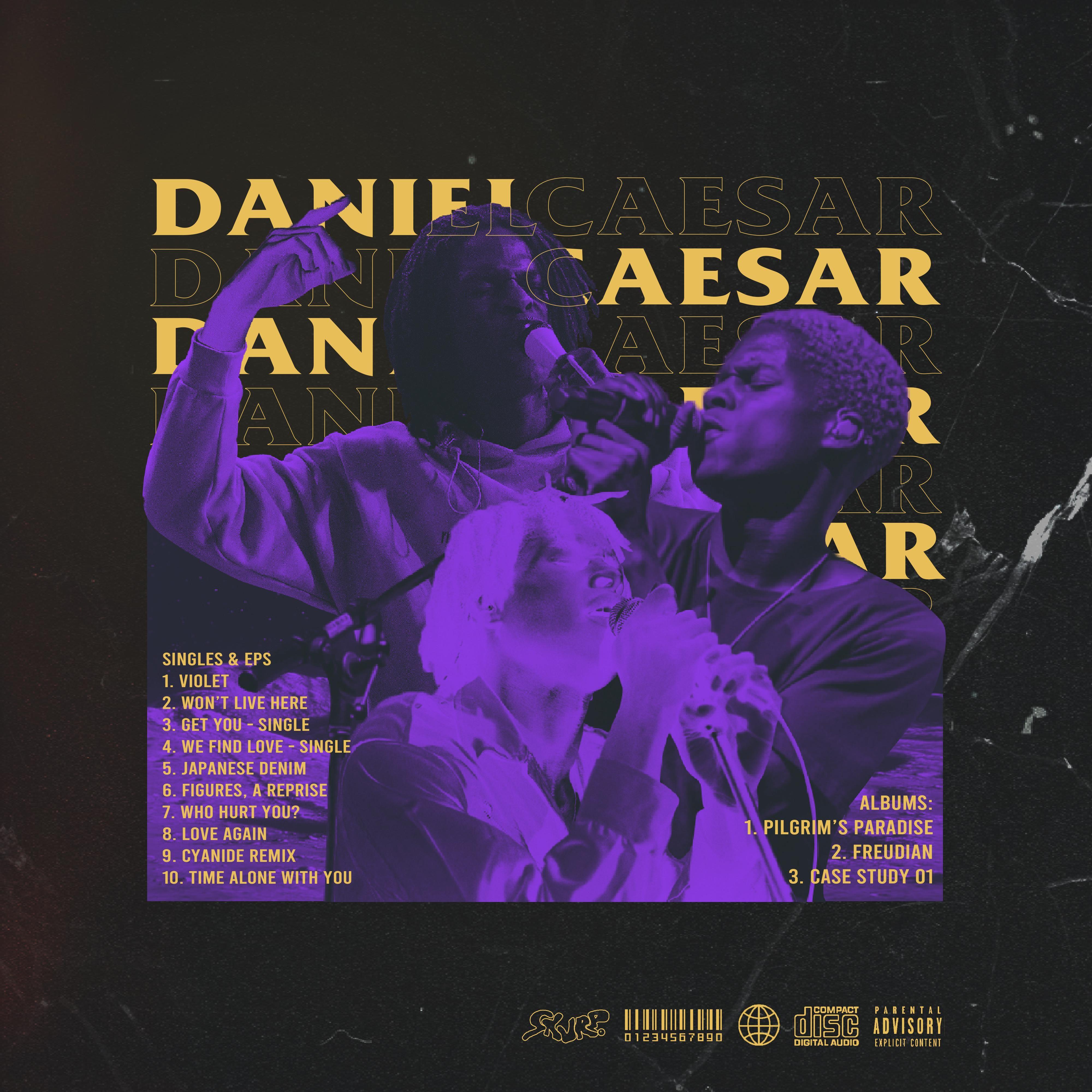 Daniel caesar discography in 2020 music collage daniel