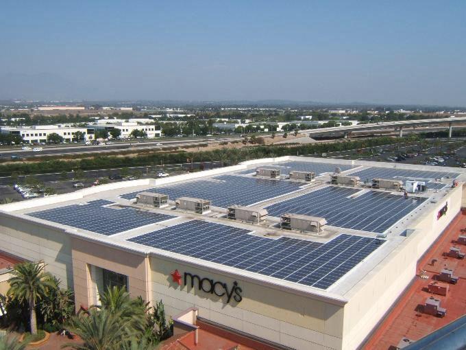 Macy S Rooftop Solar Array Solar Solar Installation Best Solar Panels