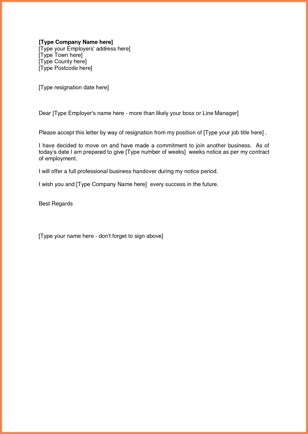 10 Sle 2 Week Notice Letter Of Resignation Notice Letter Resignation Letter Lettering Resignation Letter Format
