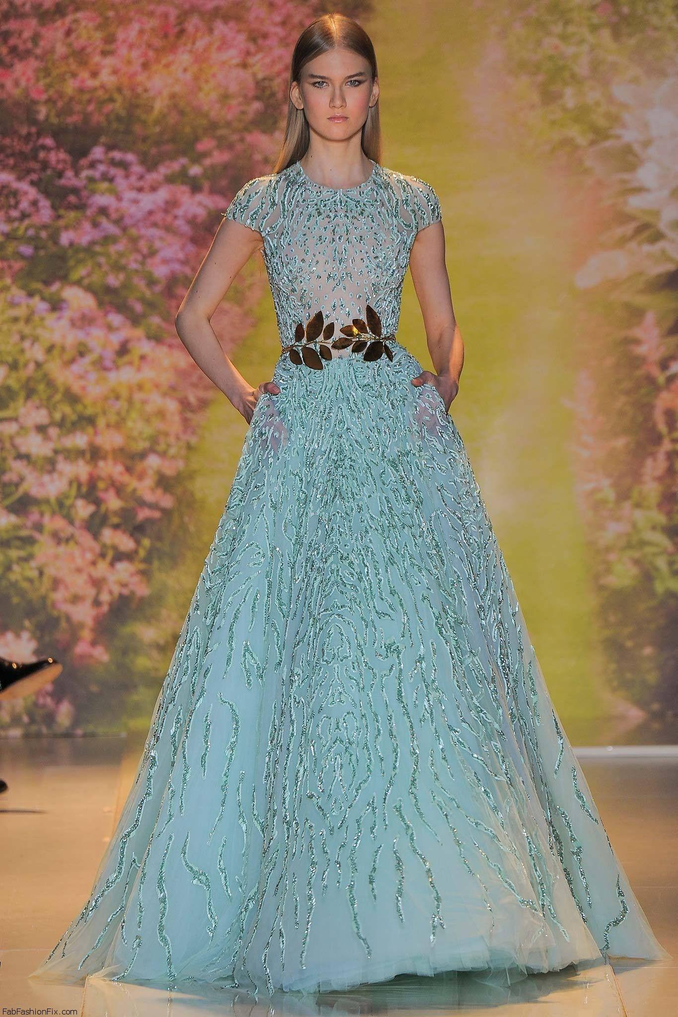 Zuhair Murad Haute Couture spring 2014 collection | Vestidos de ...