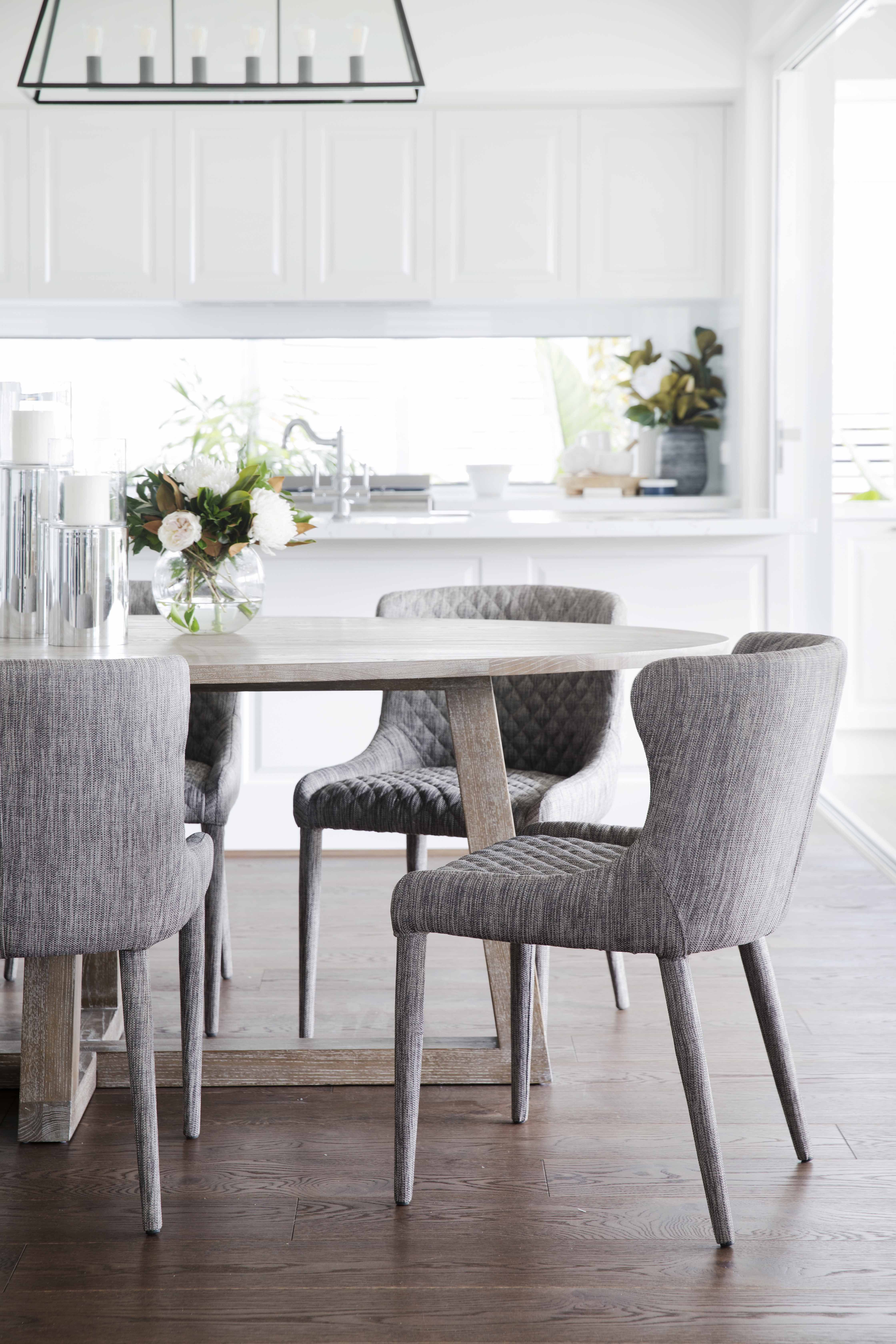 The Saxon Dining Chair Delivering A Contemporary Seating Option