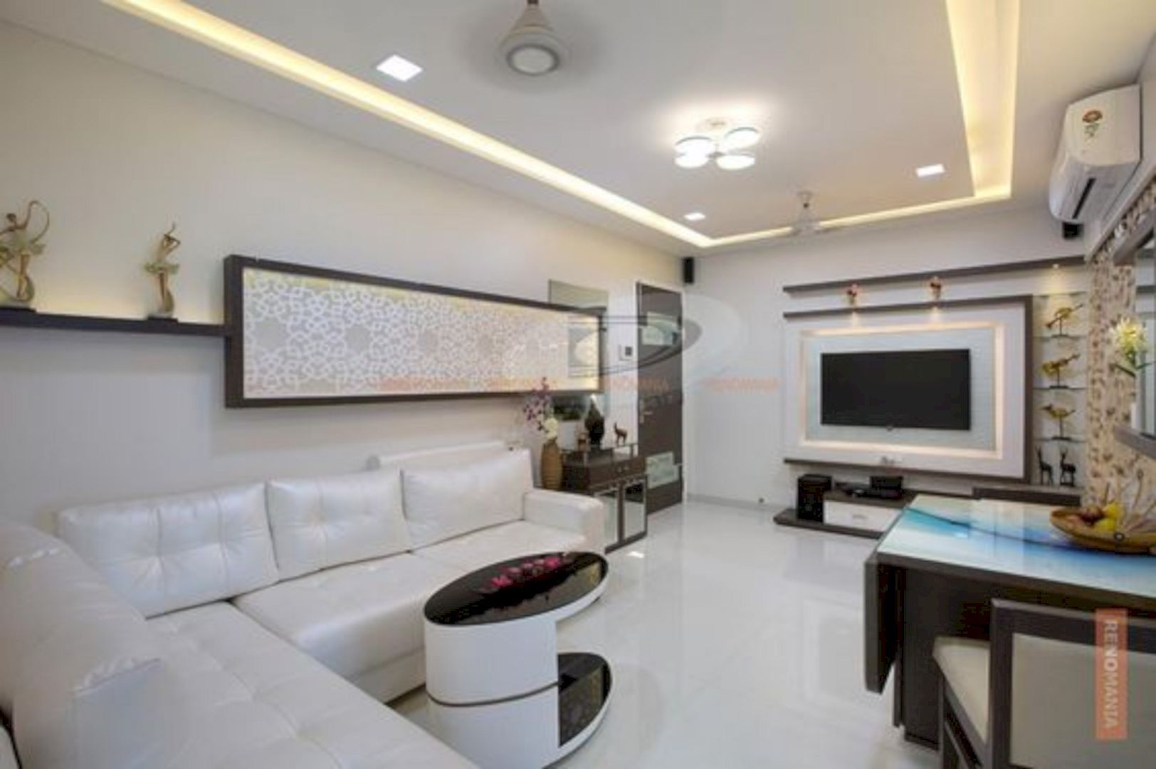 15 Interior Design Ideas To Prettify Your 2 Bhk Flat With Images