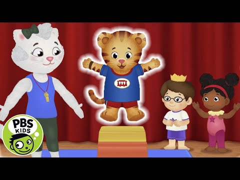 Daniel Tiger's Neighborhood Gymnastics Class! PBS KDS