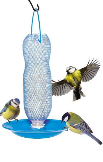 Gadjit Soda Bottle Hanging Wild Bird Feeder Kits Pack of 2 Free Shipping Green