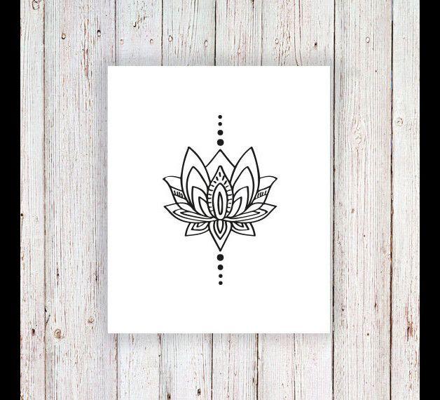 kleines lotus tempor re tattoo angebote tattoo ideen und nacken tattoo. Black Bedroom Furniture Sets. Home Design Ideas