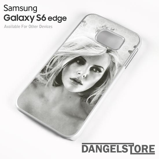 charlize theron LZ 4 For Samsung S6 Edge Case