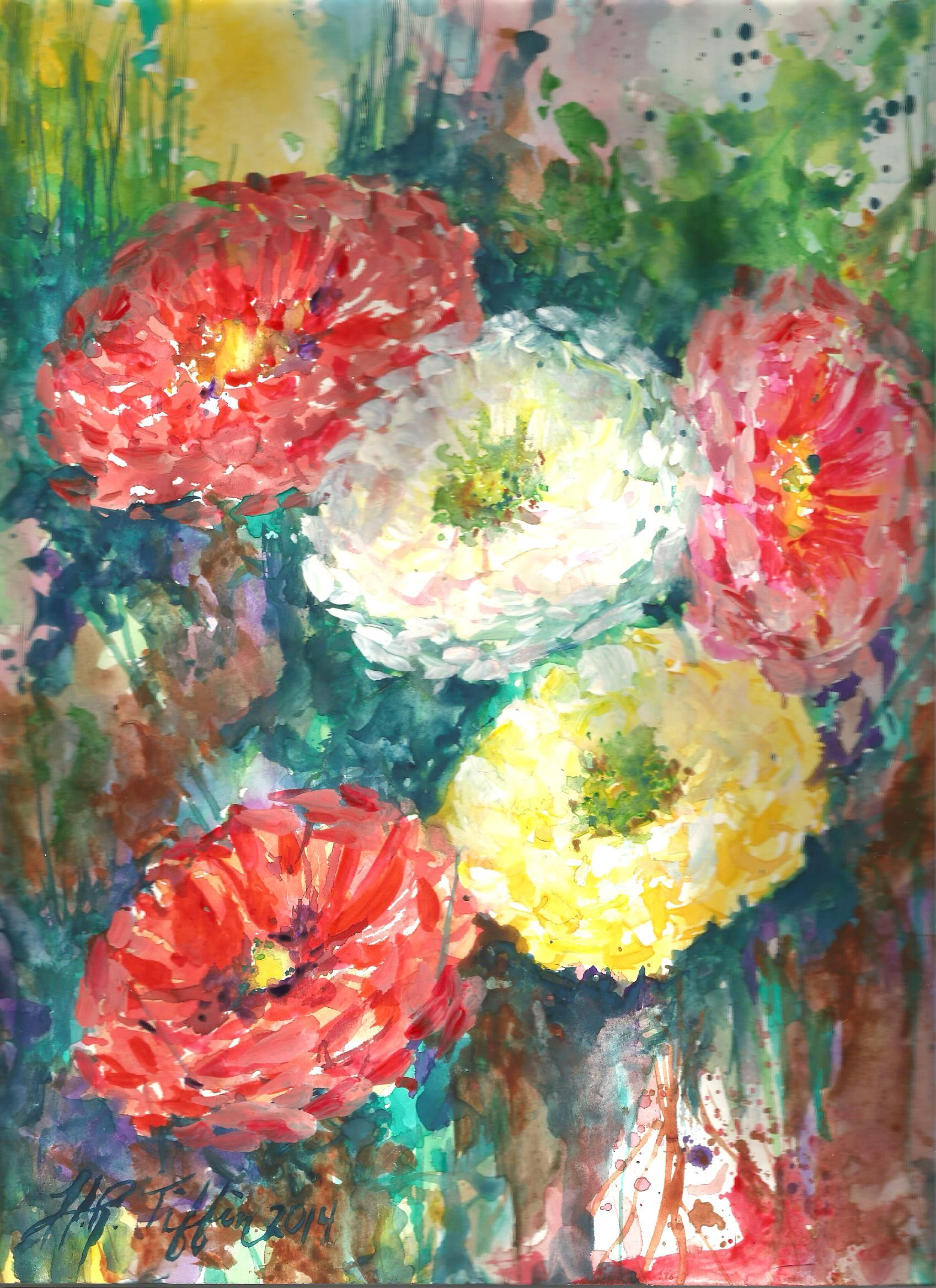 Original watercolor art for sale - This Is A Original Watercolor By Artist Hannah Tiffin Though This Image Has Been Mass Produced This Is The Original And It Is For Sale