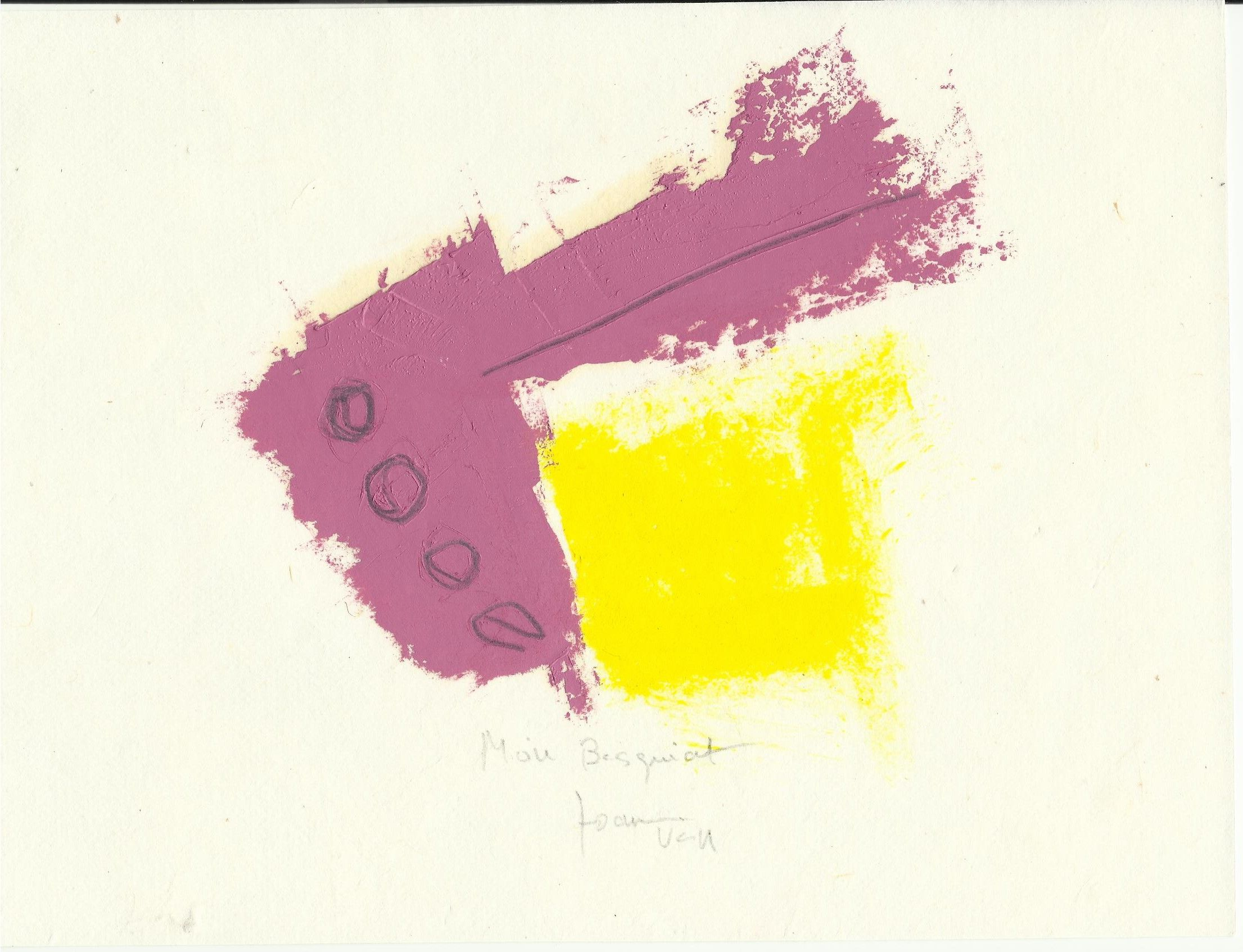 Serie inspirada en el pintor J.M. Basquiat
