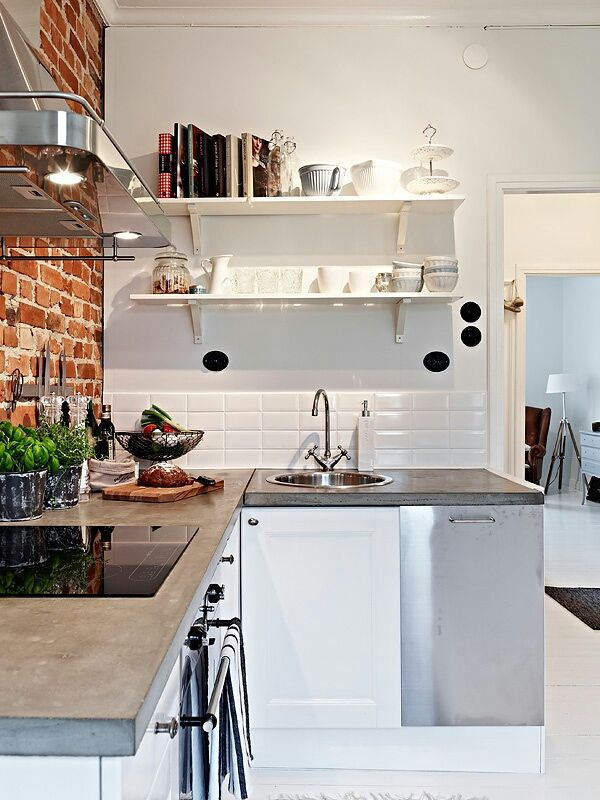 Home Decor: Rustic + Vintage + Industrial | Cemento alisado, Muebles ...