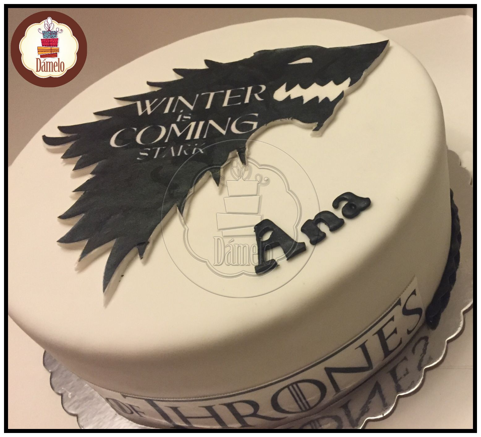 game of thrones torta sabor zanahoria con pasas y. Black Bedroom Furniture Sets. Home Design Ideas