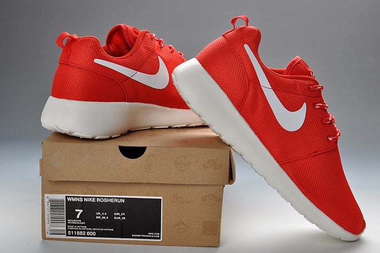 Nike Roshe Run Women Red
