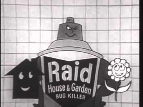 Raid Bug Killer 1960 Classic Tv Commercial Vintage Tv Commercials Pinterest Tv