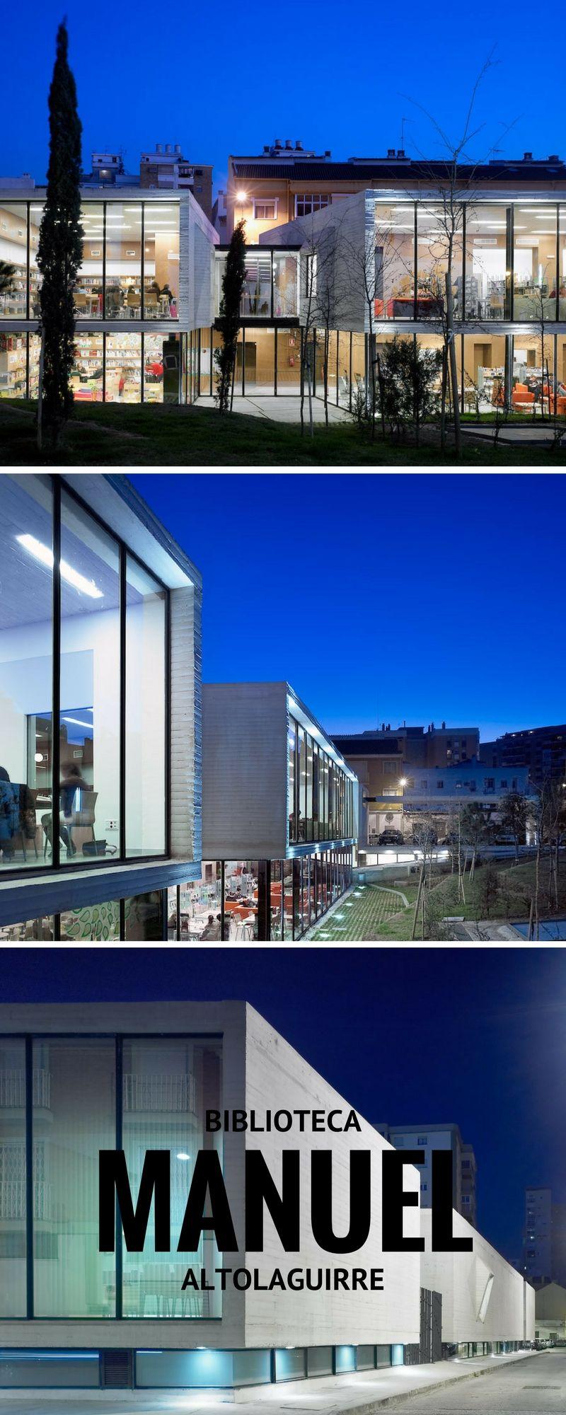 Un centro vivo de cultura en un barrio inesperado. Descubre la biblioteca Manuel Altolaguirre en C/ Calatrava 6 de Málaga.