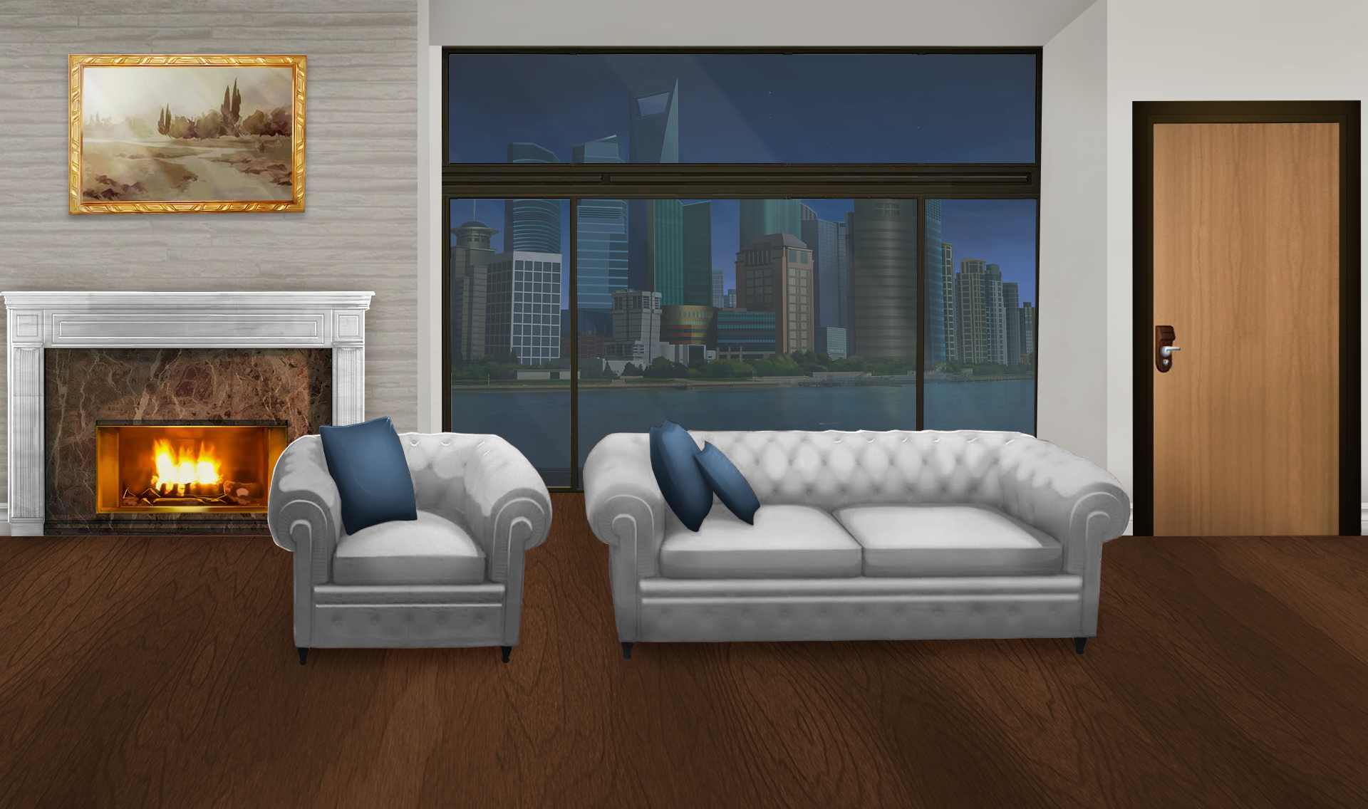 The Living Room Last Night Episode Night To Day Bedroom Background