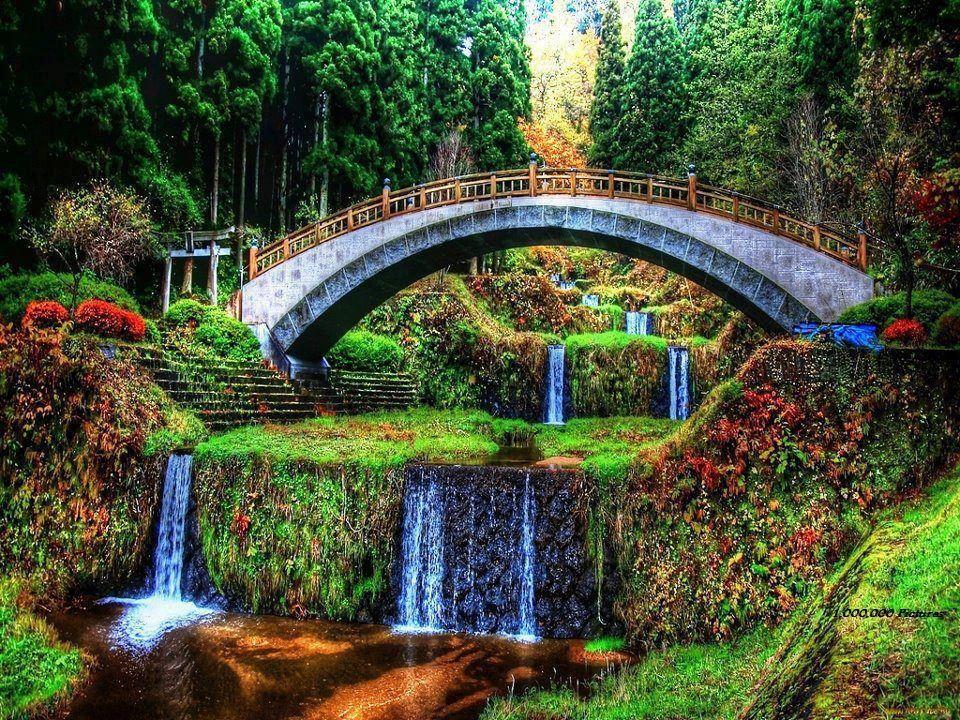 My Fantasy Garden Waterfall Beautiful Gardens Landscape Design