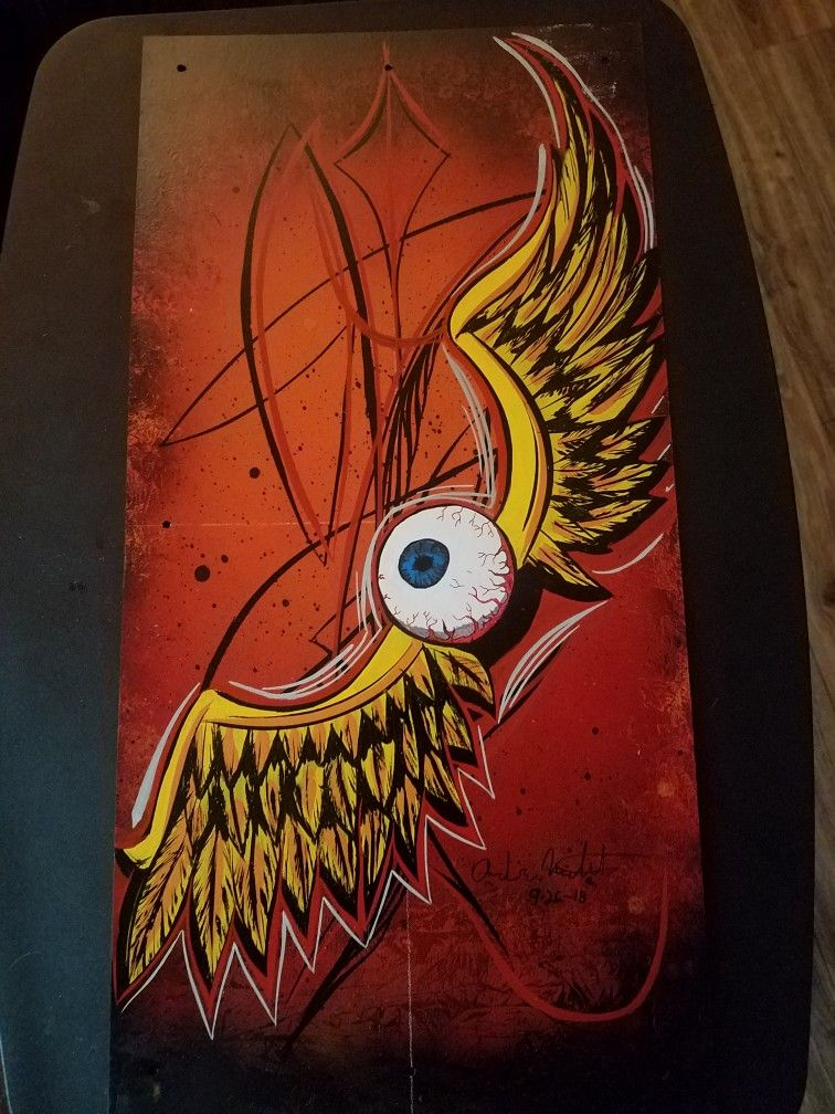 Eyeball With Wings Tattoo : eyeball, wings, tattoo, Flying, Eyeball, Kustom, Kulture