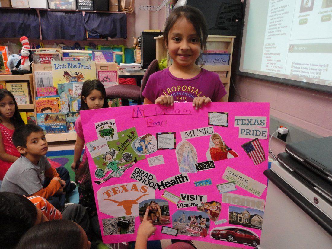 First Grade Dream Boards