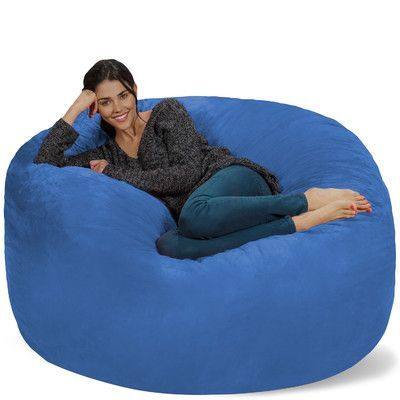 Theater Sacks Bean Bag Sofa Upholstery Royal Blue Products
