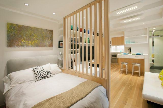 Raumteiler für Schlafzimmer - 31 Ideen zur Abgrenzung | Home ...