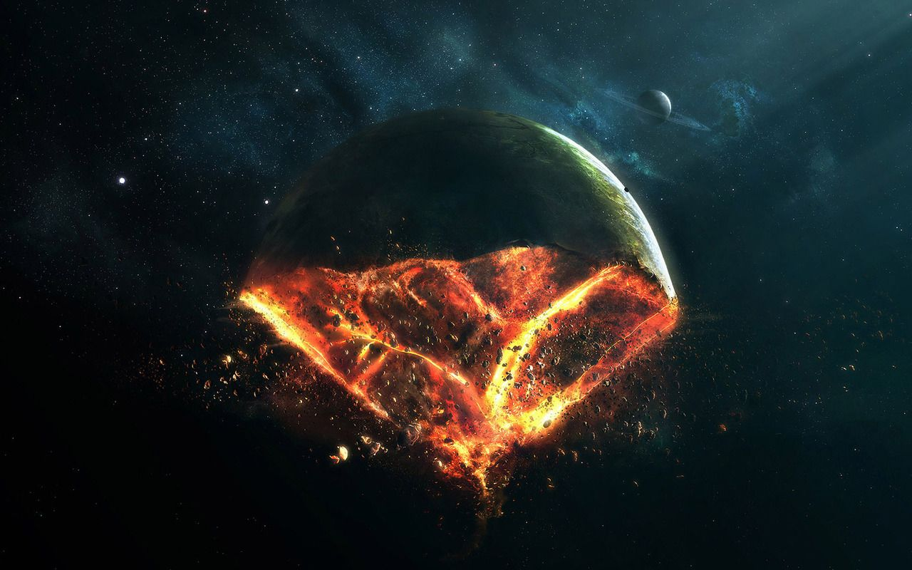 exploding planet earth - photo #5