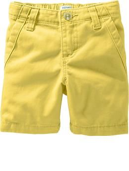 b0ee98291fa2 Flat-Front Shorts for Baby | Old Navy | Soren | Yellow shorts outfit ...