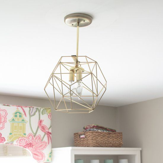 Why spend hundreds on a chic geometric globe pendant light when you why spend hundreds on a chic geometric globe pendant light when you can diy your own aloadofball Images