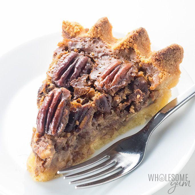 The BEST Keto SugarFree Pecan Pie Recipe  Wholesome Yum   Pecan Recipes