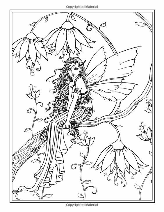 Colouring Page Fairy Coloring Book Fairy Coloring Fairy Coloring Pages