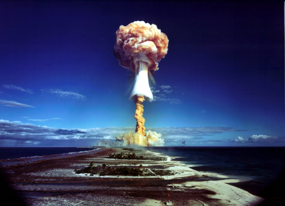 27 Nuke Explosion Nuclear South Pacific
