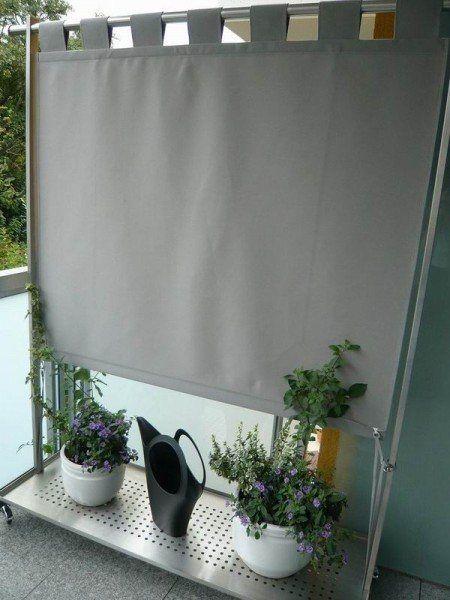 Windschutz und Paravent für den Aussenbereich Pinterest - markisen fur balkon design ideen