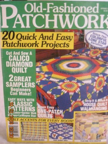 Old Fashioned Patchwork Magazine  1995 spring