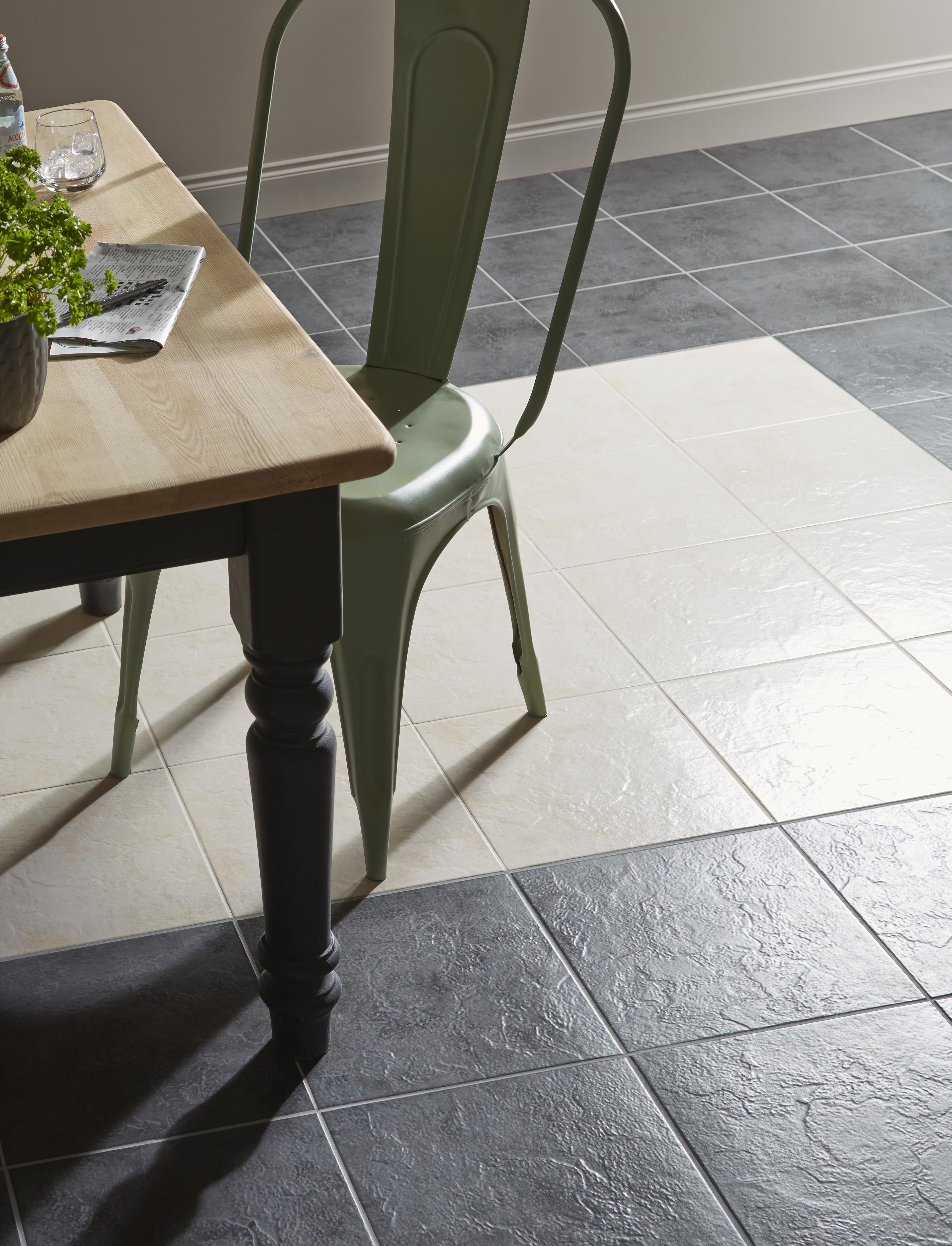 Haver chalk stone effect travertine ceramic wall floor tile a floor tile thats hard wearing easy to clean and textured the cirque dailygadgetfo Gallery