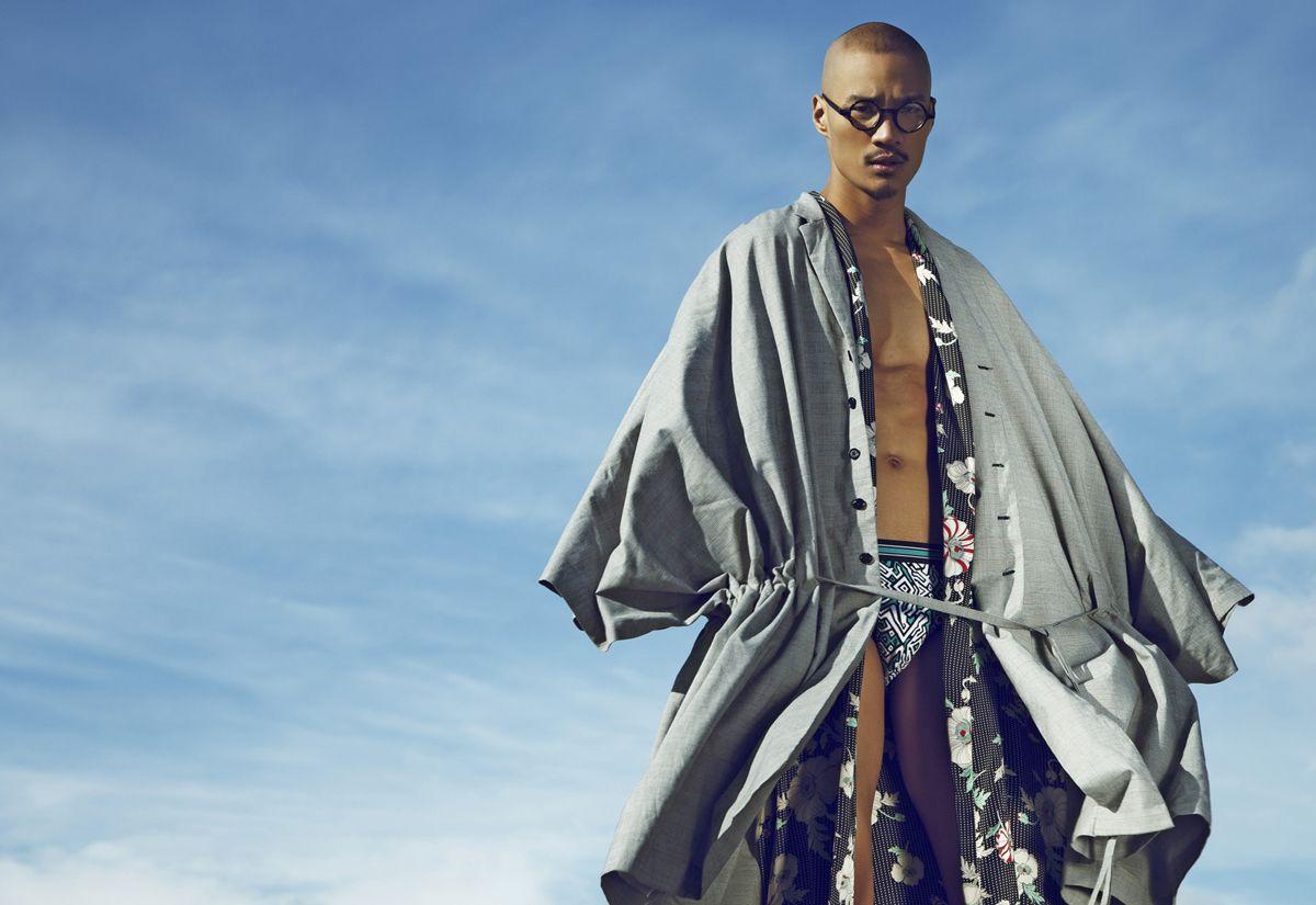 Paolo Roldan photographie par Brent Chua Asian men