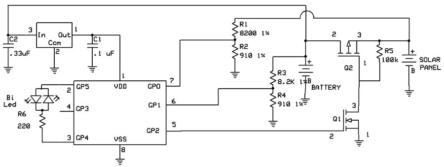 Pin Solar Charge Controller Circuit Diagram On Pinterest