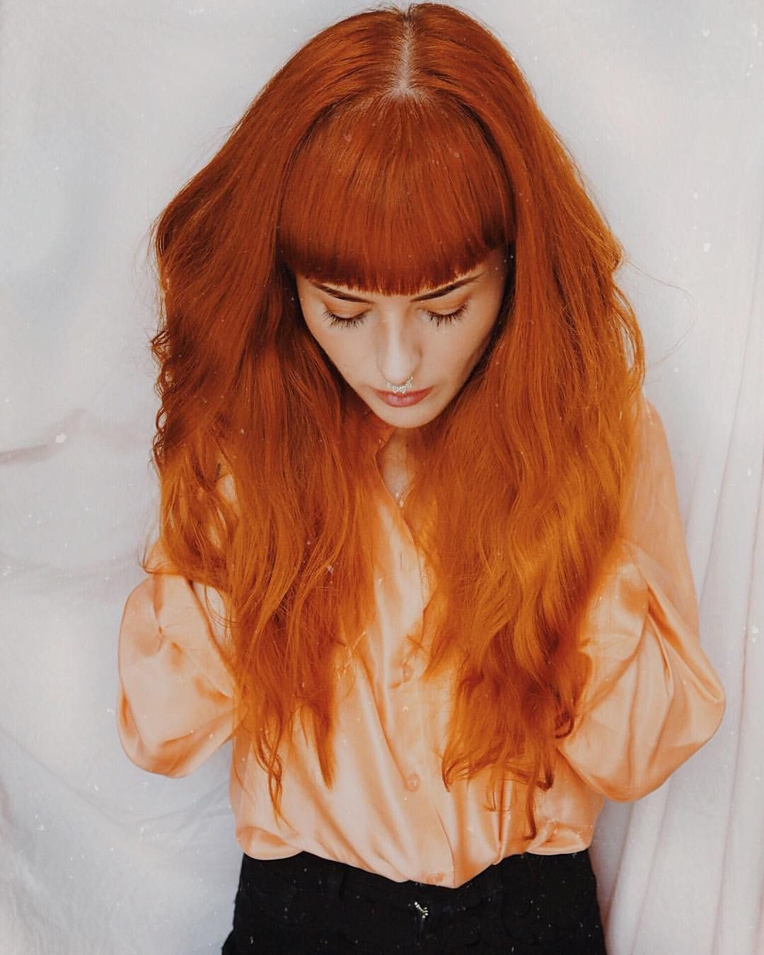 Arctic Fox Hair Color Cosmic Sunshine Sunset Orange And A Drop Of Violet Dream Life Is Too Short To H Hair Color Orange Fox Hair Dye Short Copper Hair