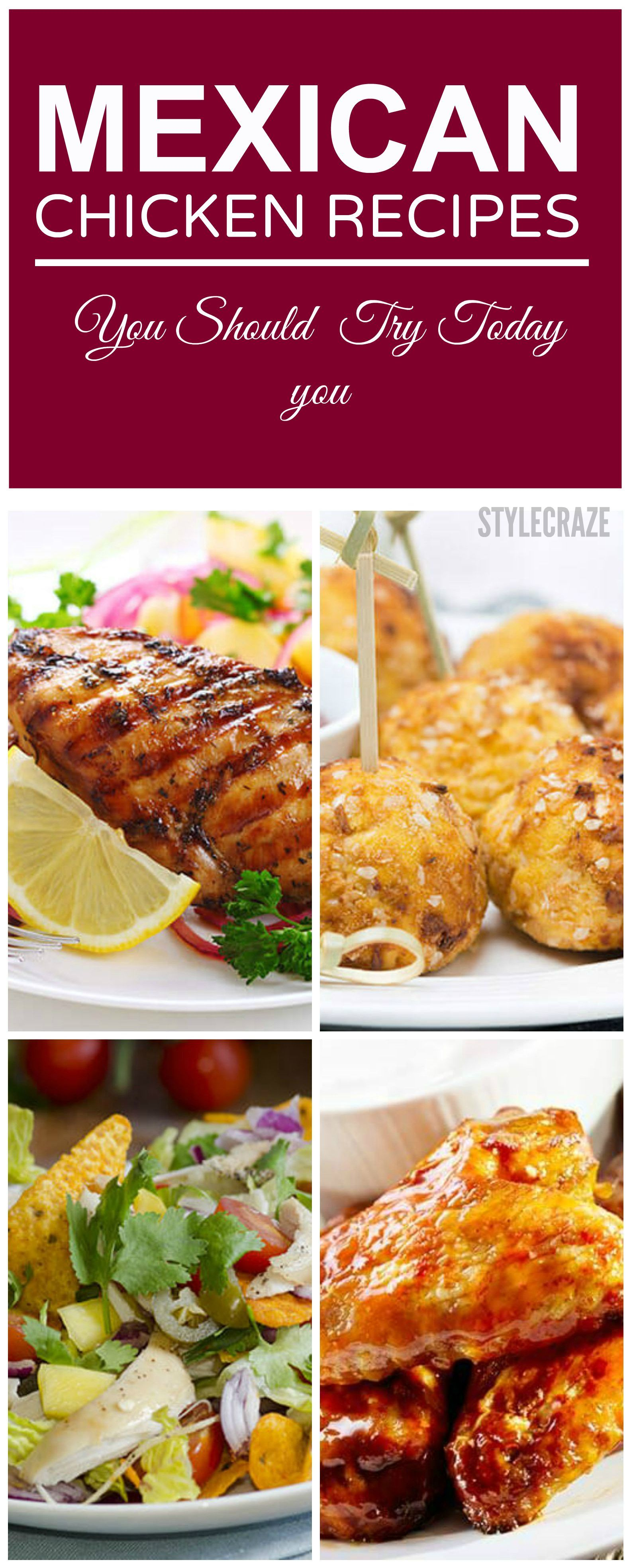 15 Yummy Chicken Recipes By Sanjeev Kapoor Mexican Chicken Recipes Yummy Chicken Recipes