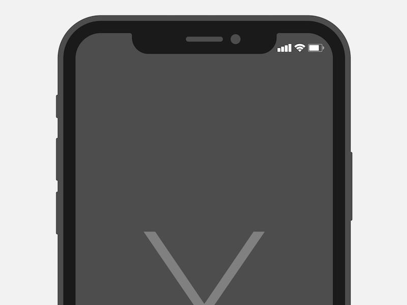 iPhone X Illustrator Template | Illustrators, Template and ...