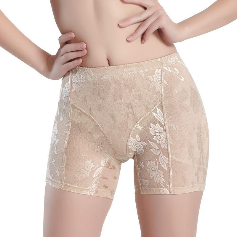 e1fc32071 Silicone Padded Panties Women Shapewear Bum Butt Hip Lift Enhancing Knickers  Safety Panty ZT7