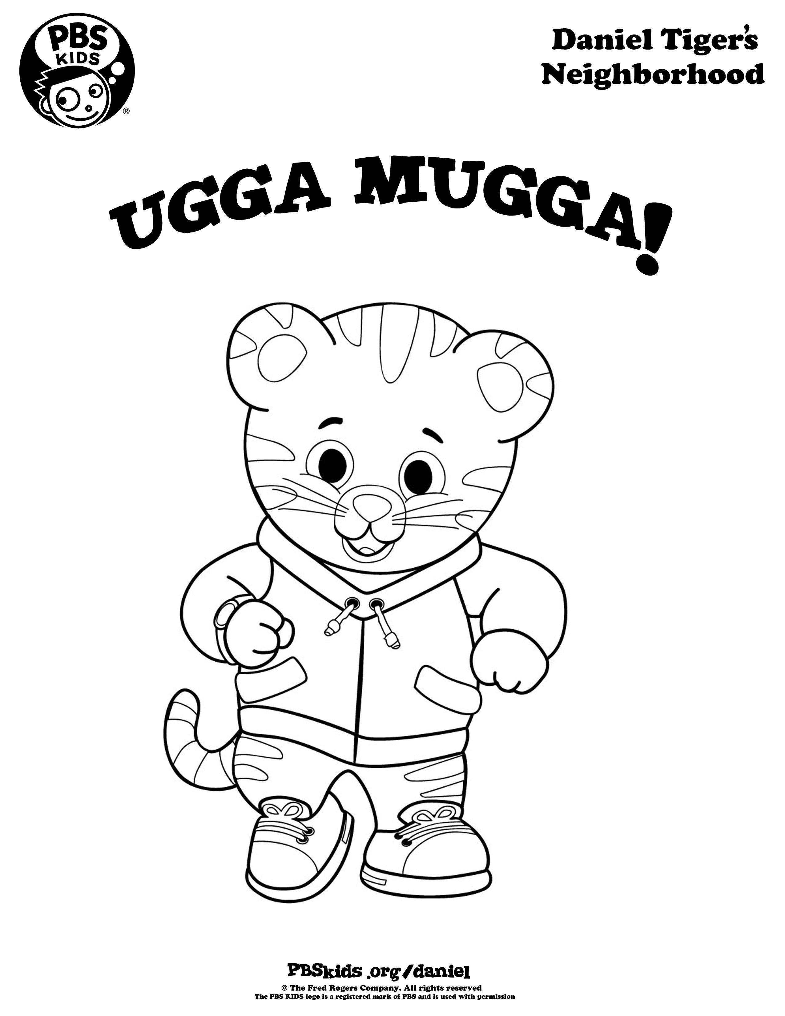 Daniel Tiger Coloring Page | Kids Coloring… | PBS KIDS for Parents | 3300x2550
