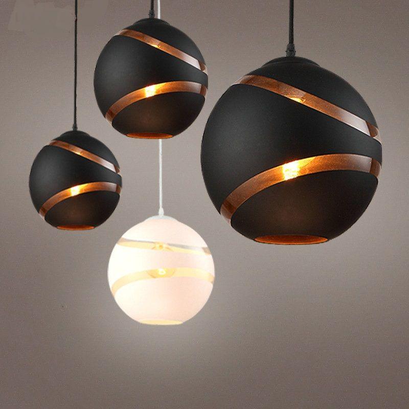 Nordic Pendant Lights Restaurant Light Simple Three Single Head
