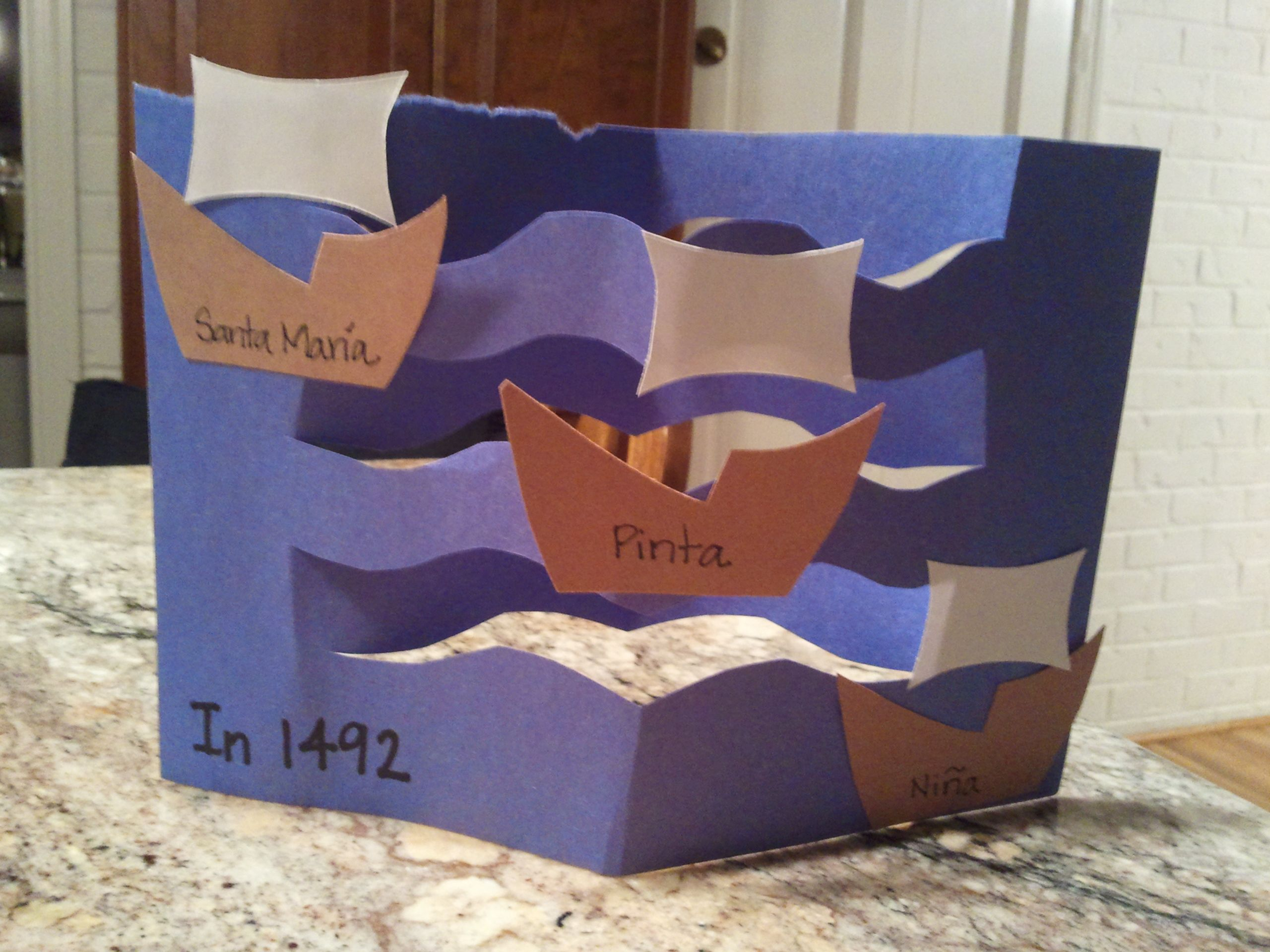 Pin By Shannon Gilmore On Preschool Crafts Fall Christopher Columbus Activities School Crafts Craft Activities