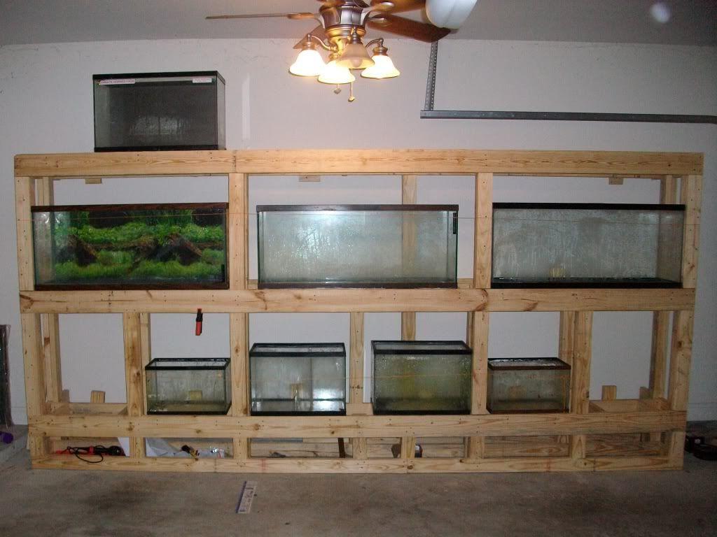 Diy Multi Aquarium Stand Aquarium Stand Diy Aquarium Stand Diy Fish Tank