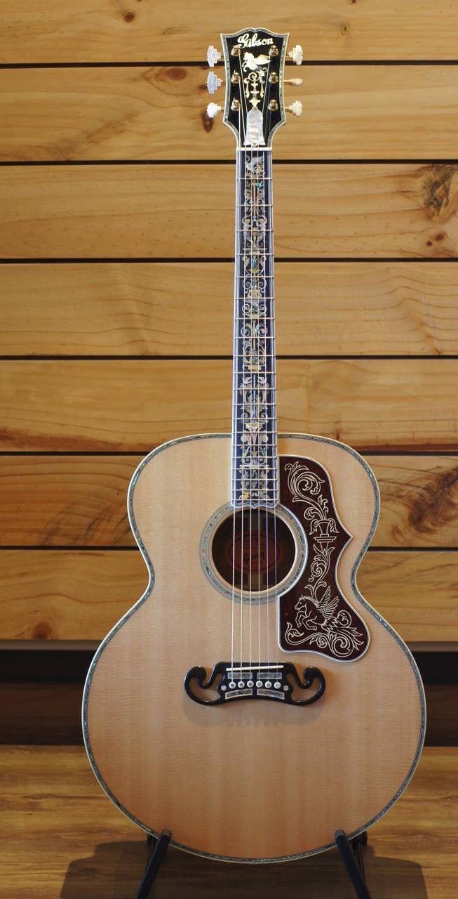 Gibson Custom Jumbo Acoustic Guitar Custom Acoustic Guitars Guitar Acoustic Guitar