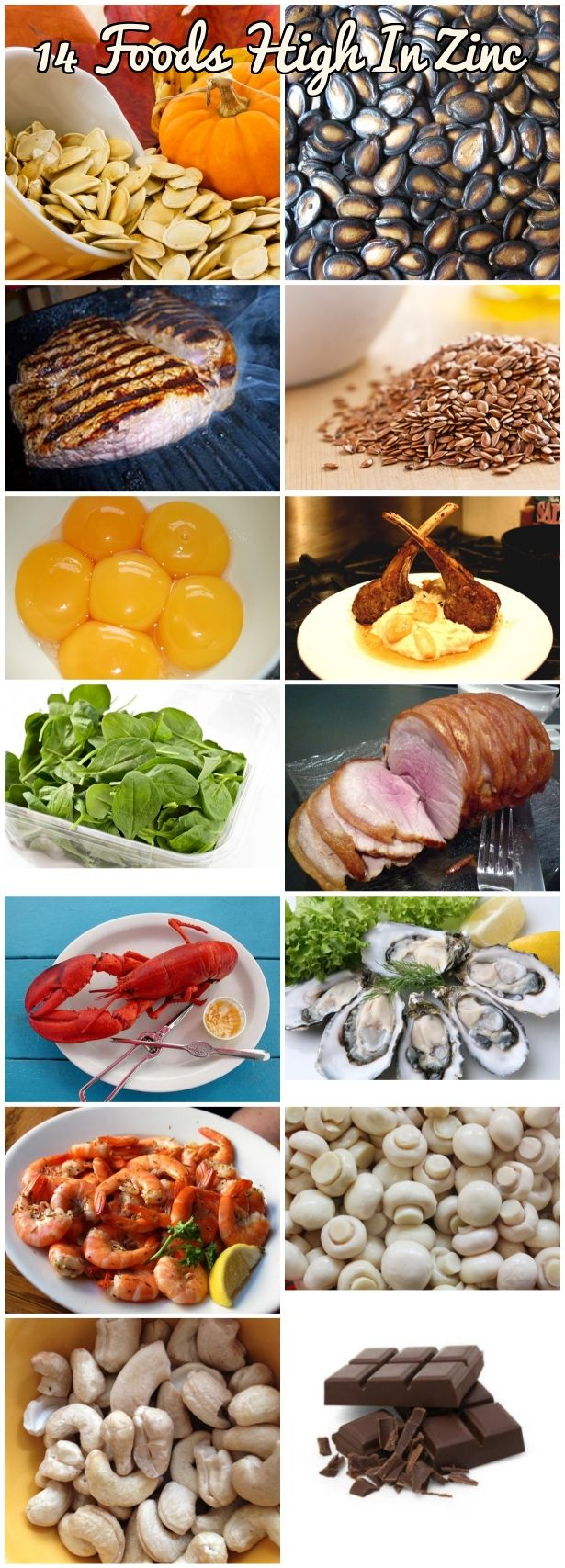 Foods High In Zinc 15 Zinc Rich Foods For Zinc
