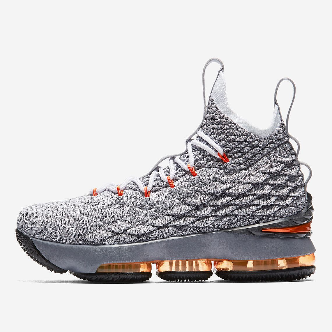 new concept 4ad3d 478d7 Nike LeBron 15 Safety Orange To Drop Exclusively For Kids ...