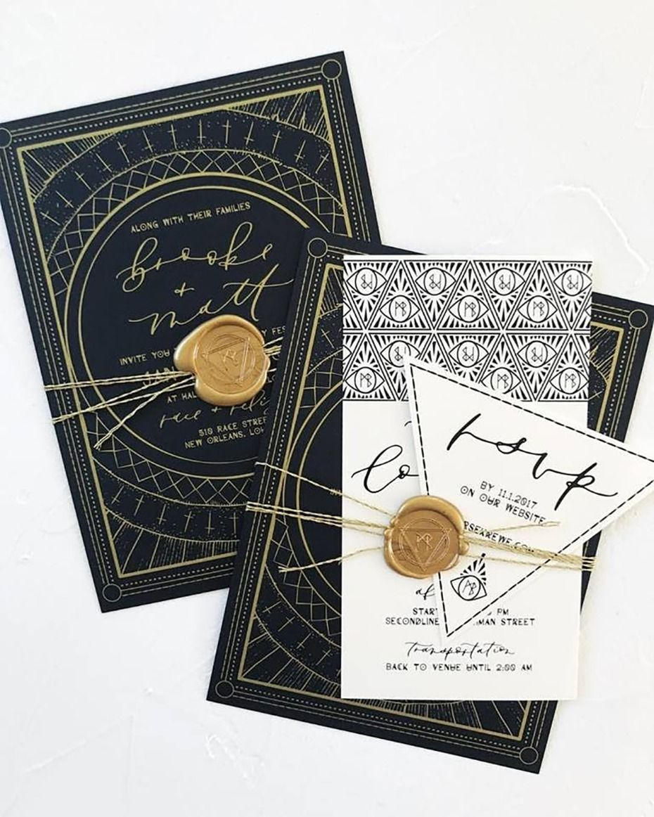 How To Have A Magic Af Wedding In New Orleans Invitations