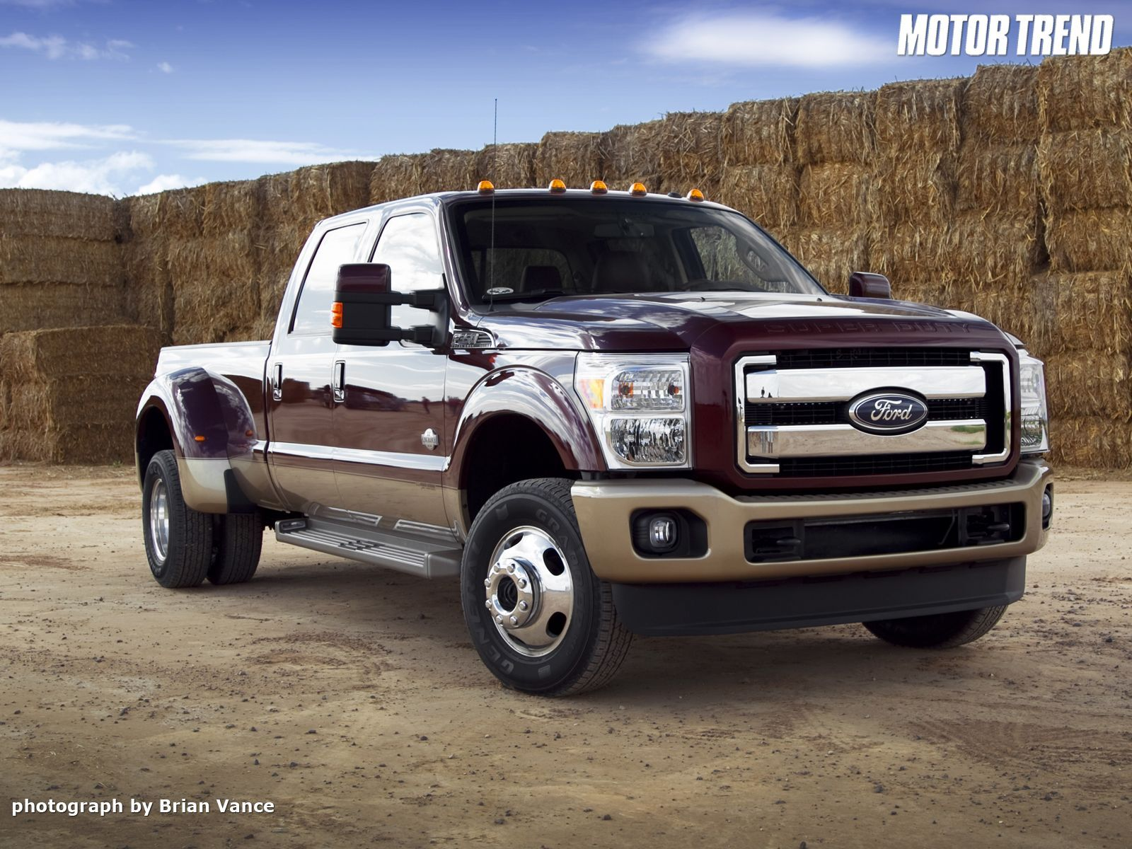Ford F 350 King Ranch Wrong color but it ll do