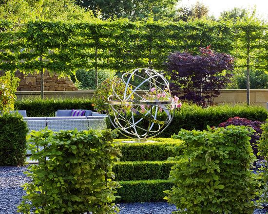 Perfect Landscape Screen | ... Landscape The Espalier Trees Make A Great Screen  Privacy With