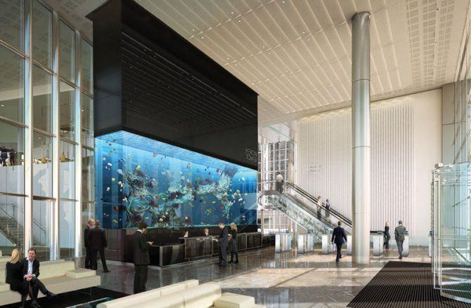 Large Home Aquarium | Europeu0027s Largest Aquarium Installed In London Office