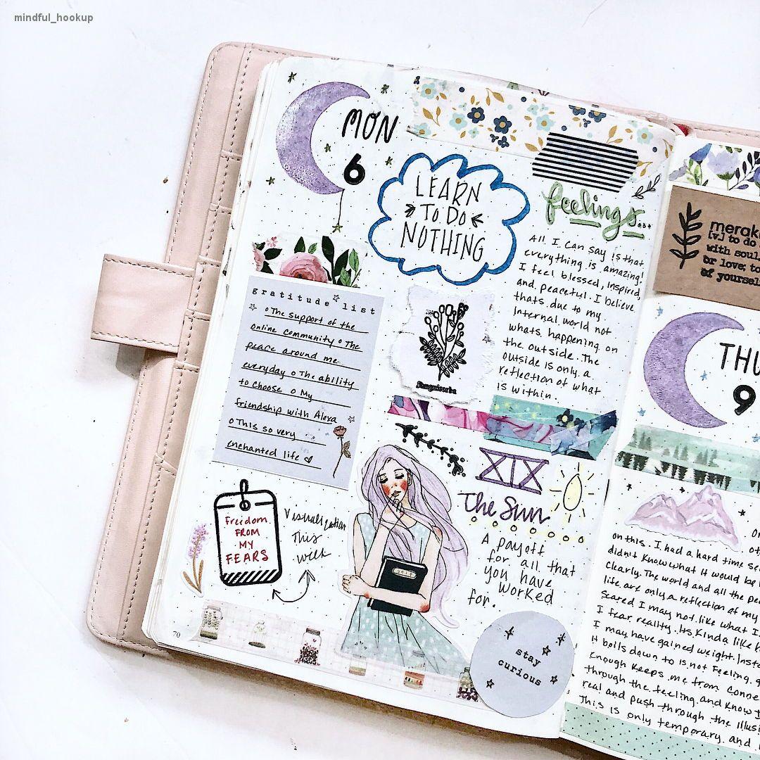bullet journal bujo planner ideas for weekly spreads
